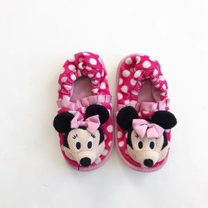 Disney Minnie Mouse slippers VGUC size 9